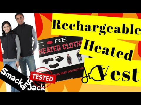 Rechargeable Heated Vest Review - The Gerbing Heated Vest(2019)