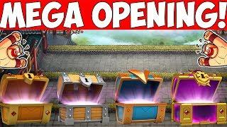 MEGA CHEST OPENING! || CASTLE CRUSH || Let