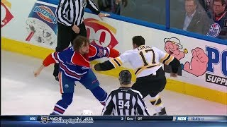 Milan Lucic vs Luke Gazdic Dec 12, 2013 thumbnail