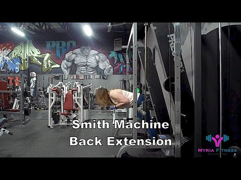 Smith Machine Back Extension