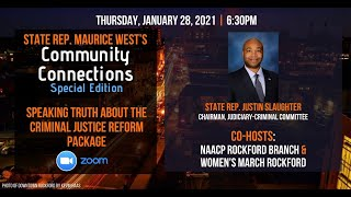 Rep. Maurice West's Community Connection: Criminal Justice Reform Package