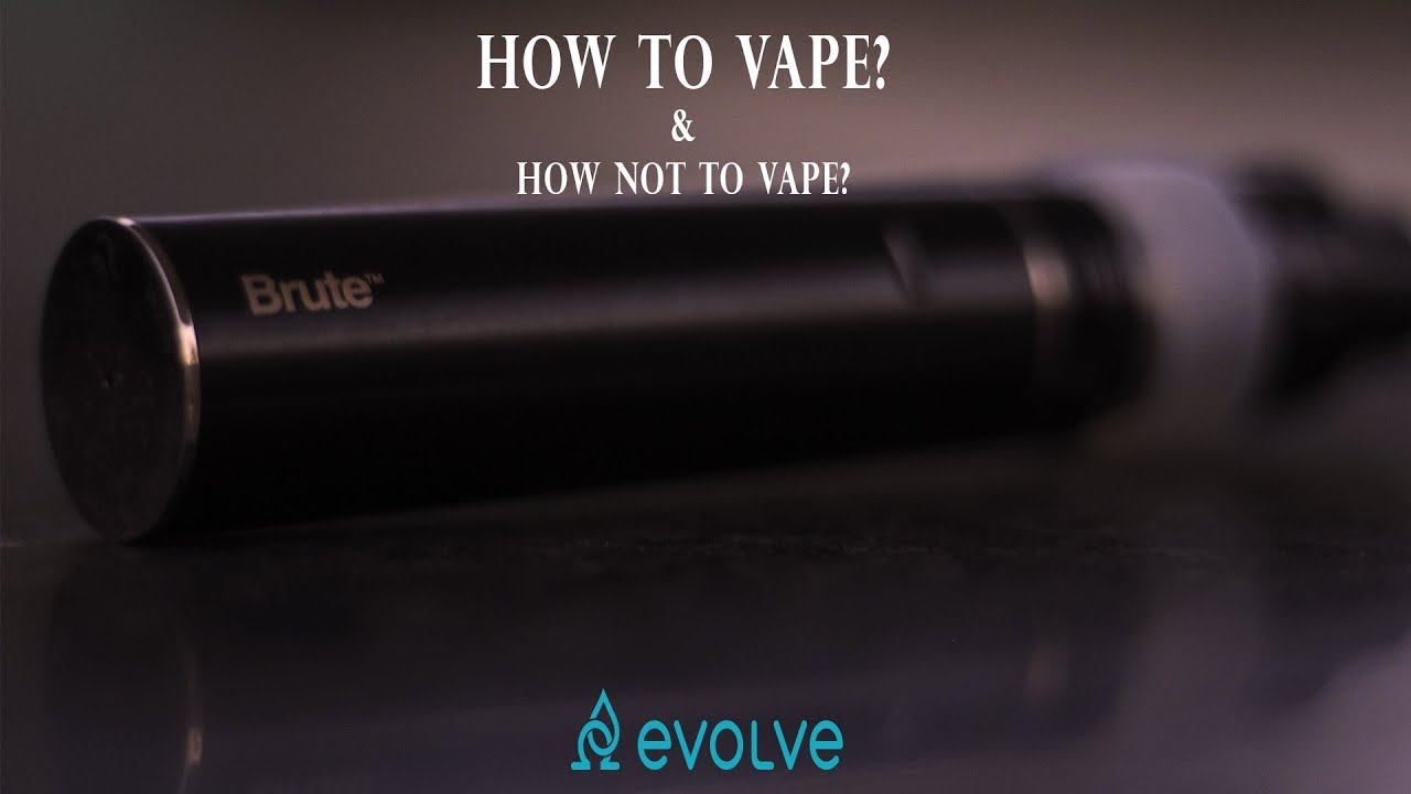 300fc585b09 How to Vape
