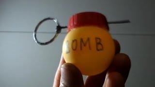Como fazer uma granada que explode