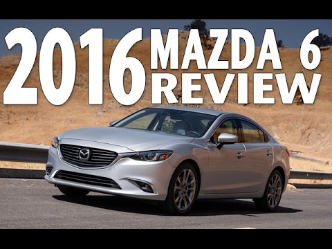 the best sedan? watch the 2016 mazda 6 test drive and review - youtube