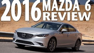 The Best Sedan? Watch the 2016 Mazda 6 Test Drive and Review