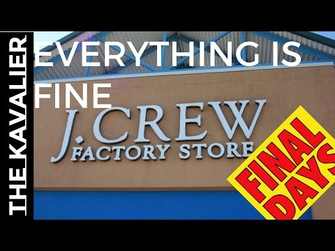 Say Goodbye to J.Crew | The Road to Bankruptcy