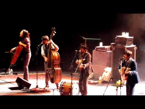 The Avett Brothers, Down with the Shine, 10/28/11 @ Bridgestone Arena, Nashville TN