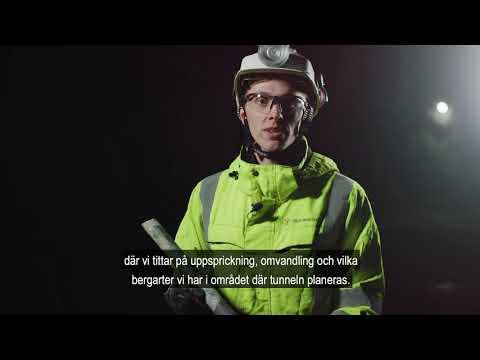 Så Jobbar Vi Med Berget I E4 Förbifart Stockholm | Trafikverket