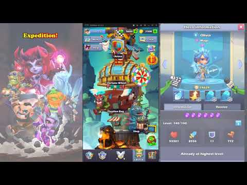 Taptap Heroes - Running through expedition!