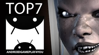 TOP 7 BEST ANDROID HORROR GAMES 2016! (Scary Games)
