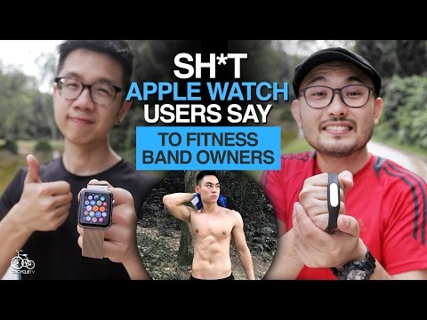 Sh*t Apple Watch Users Say To Fitness Band Owners | TricycleTV