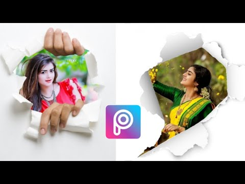 How to Instagram 3D Photo Editing Tutorial | PicsArt Photo Editing Tutorial in Hindi | Tech Momin thumbnail
