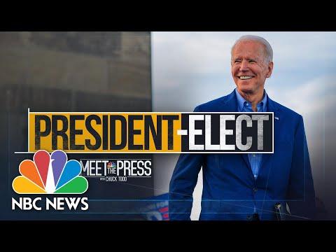 Meet The Press Broadcast (Full) - November 8th, 2020 | Meet The Press | NBC News
