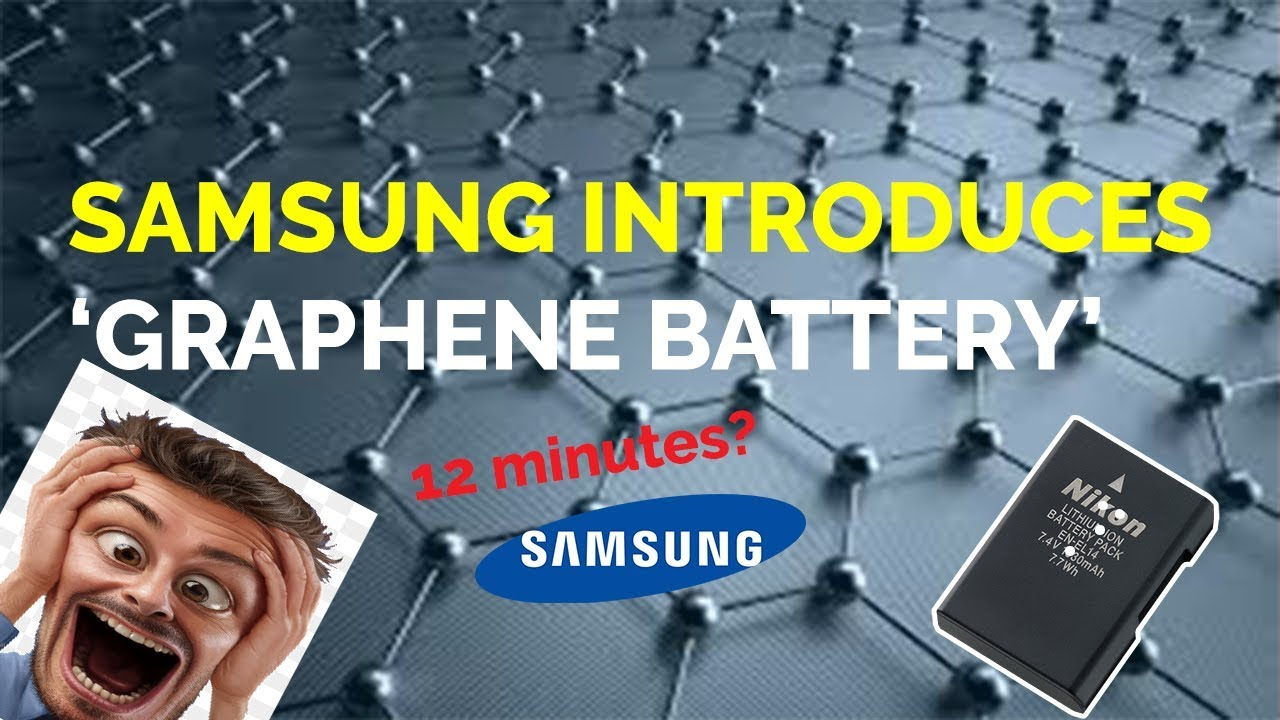 samsung graphene battery technology 2017 youtube. Black Bedroom Furniture Sets. Home Design Ideas