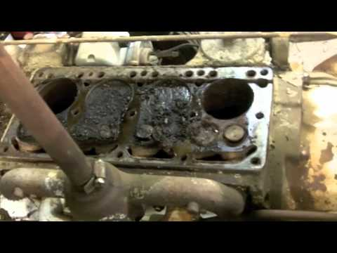 farmall cub engine rebuild video