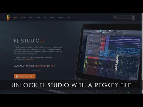 FL STUDIO | How To Unlock FL Studio With Your Regkey File