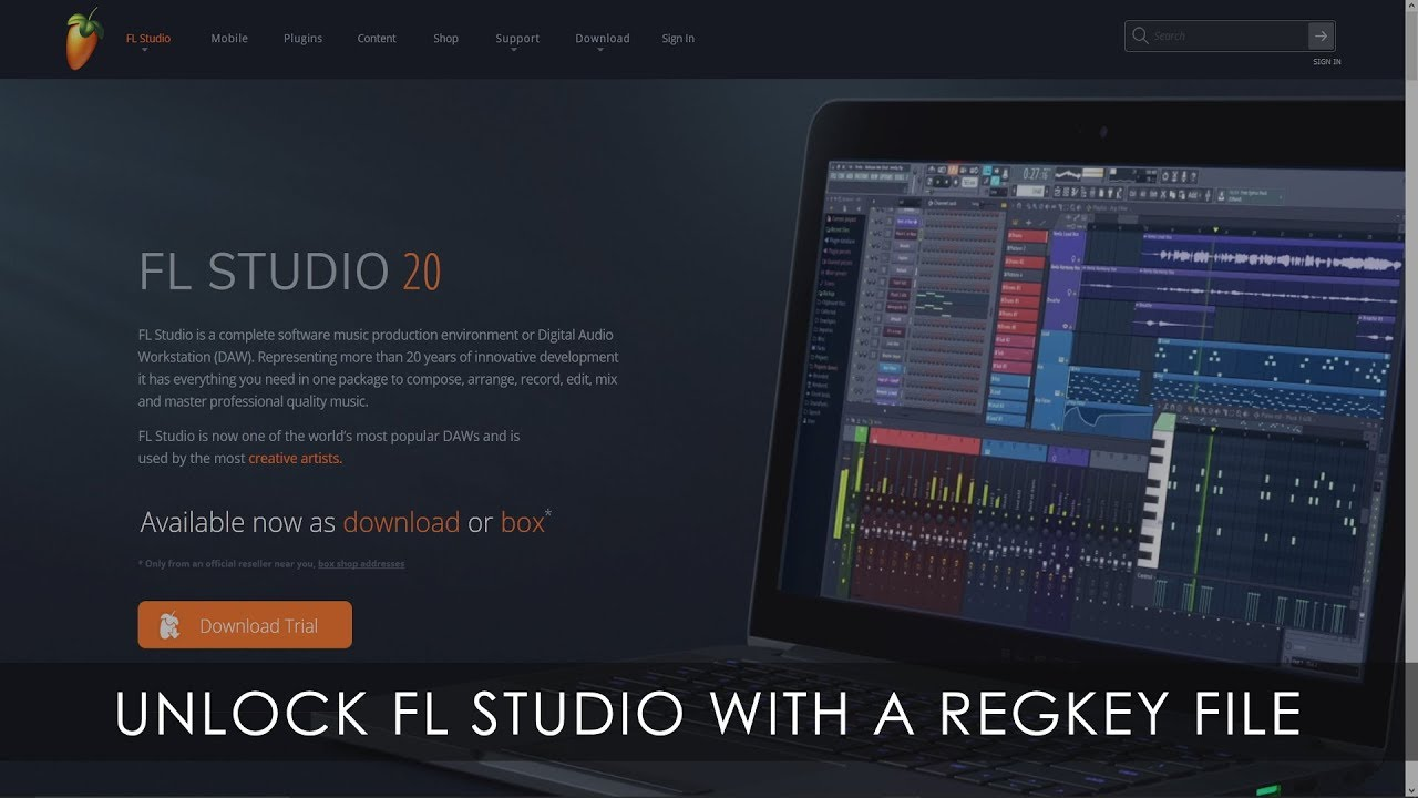 fl studio 11 mac key file