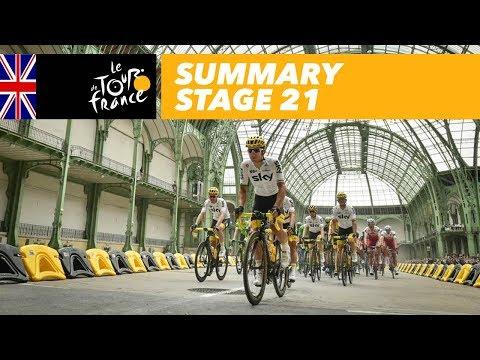 Summary - Stage 21 - Tour de France 2017