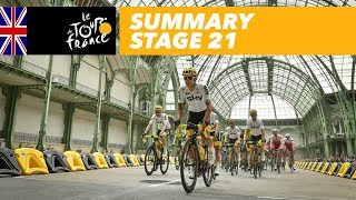 Summary - Stage 21 - Tour de France 2017