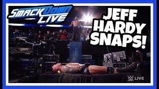 JEFF HARDY BRUTALLY ATTACKS RANDY ORTON reaction | WWE Smackdown Live 8/21/18