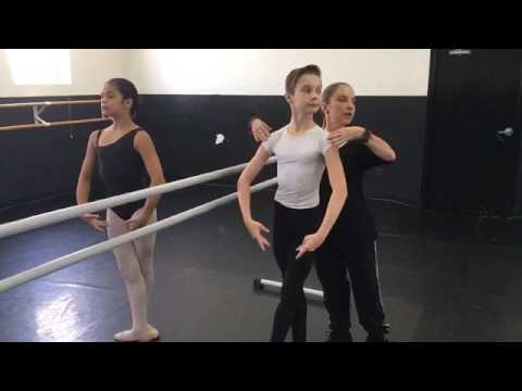 Intermediate Ballet Class by Lourdes Albarellos
