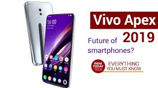 Vivo Apex 2019: No Buttons, Only Glass! | India Today Tech