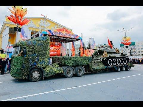 Парад Победы в Чебоксарах 9 мая 2017 года
