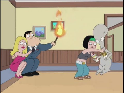 American Dad! Stan and Francine Fear Puberty