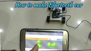 Build your own BLUETOOTH CAR //HC 05 BLUETOOTH //DIY PROJECTS //CREATIVE IDEAS //SUBSCRIBE