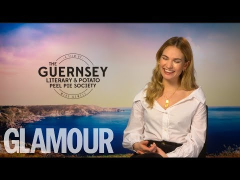Lily James On Wearing Cate Blanchett's Trousers & Feminist Period Dramas | GLAMOUR UK