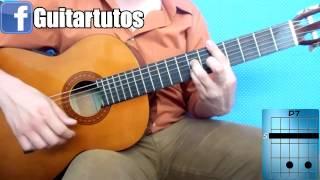"""Como tocar """"El abandonado"""" de Elefante en guitarra acústica"""