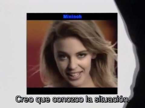 KYLIE MINOGUE (español subtitulado) Better the devil you know
