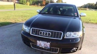 2004 Audi S4 (B6) V8 Review - Memory seats in a manual car...  Must HAVE!