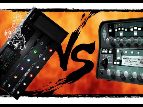 Line 6 Helix vs. Kemper Profiler Shootout (Amps and Effects)