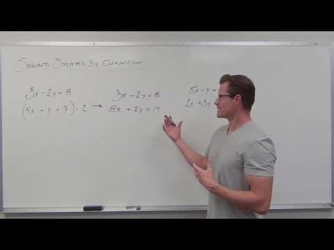 Finding Opposite Terms in Elimination Method (TTP Video 54)