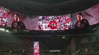 "Atlanta Falcons vs. Green Bay Packers - Samuel L. Jackson ""Rise UP"" Intro"