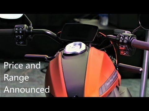LiveWire Price and Battery Range Announced! │Harley-Davidson Electric Motorcycle
