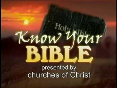 Getting to Know Your Bible - Episode 052