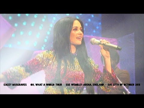 kacey musgraves - oh, what a world: tour (live in london, england
