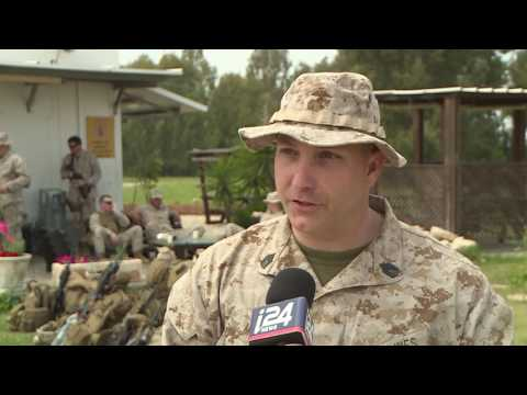 Joint Israeli Army - US Marine Corps Exercise