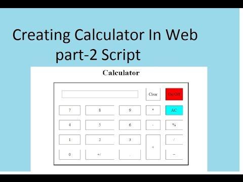 Create Calculator In Web Part-2