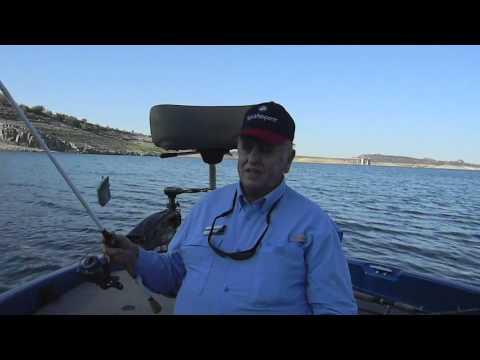 Professional Arizona Fishing Guide Mike Strole Fishing Lake Pleasant For Striper /Bass