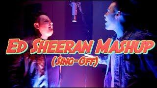 Ed Sheeran Mashup (Sing-off)   Michael Constantino vs. Dan Sky