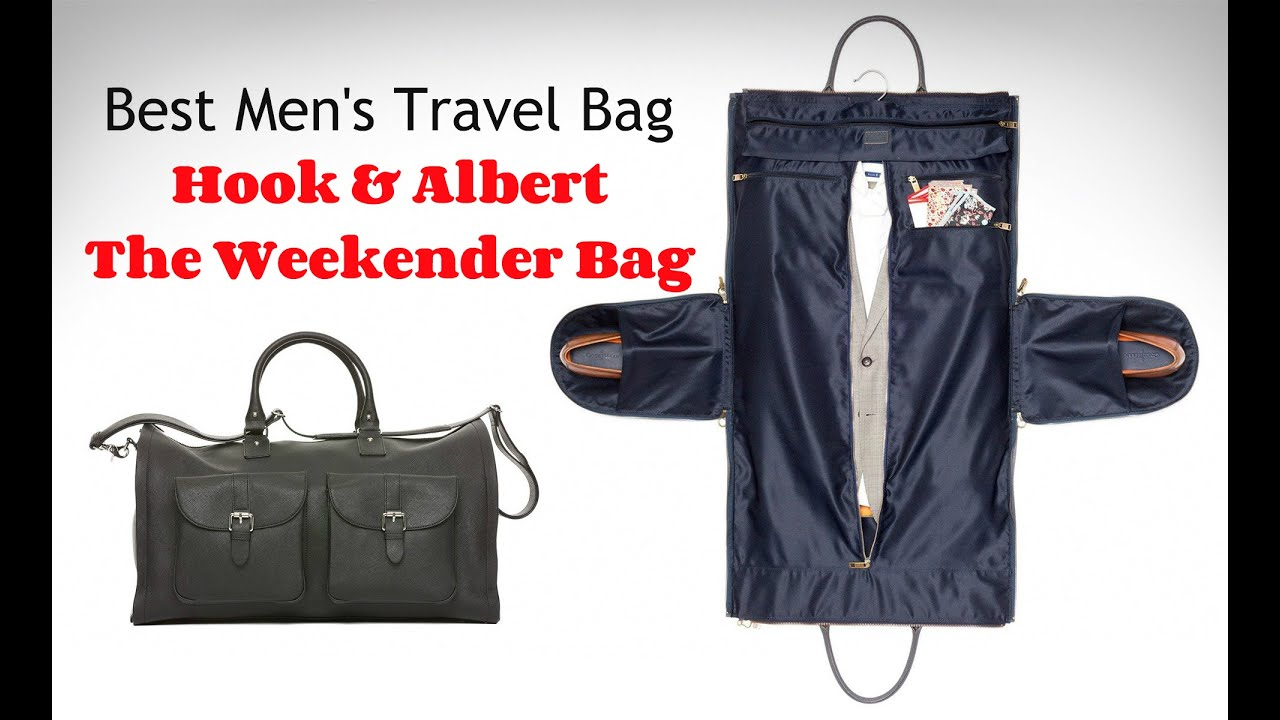 Hook and Albert Garment Weekender Bag Review - YouTube 659d4166f14aa