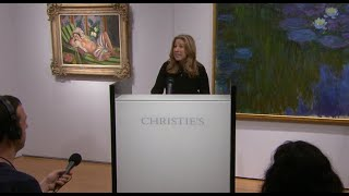 Rockefeller collection sale rakes in $832M for charity