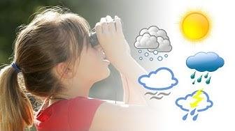 Kielinuppu - Millainen sää on tänään?