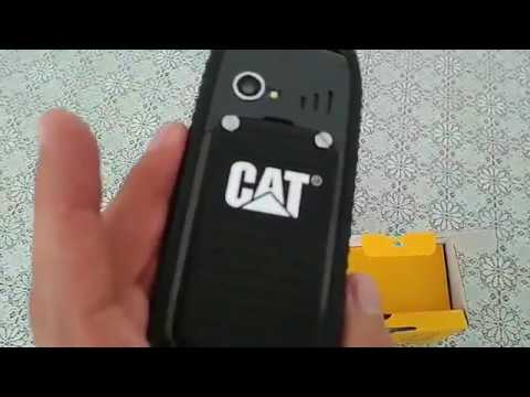 EL SUPERESISTENTE CELULAR CATERPILLAR Características CAT B25 + UnBoxing + Review