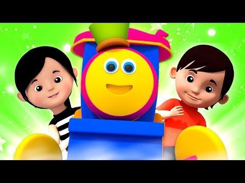 Kids Tv Português - Bob as canções infantis do trem para bebês | vídeos de desenhos animados