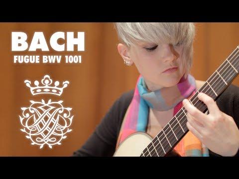 BWV 1001 Fugue By J. S. Bach, Performed By Stephanie Jones