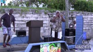Cleveland Simmons At Vigil For Rudy Smith, July 24 2013